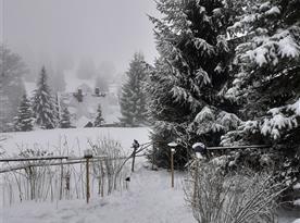 Sněhu je dost :-)Rok 2021..