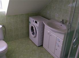 Koupelna, sprchový kout, wc