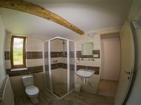 Koupelna s WC
