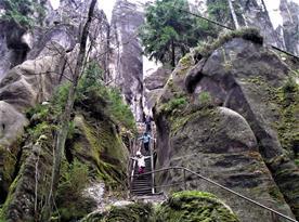 V Adršpašských skalách