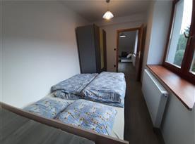 Apartmán Západ - ložnice