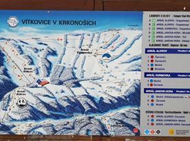 Lyžařské vleky - Aldrov, Jizerka - lyžařský areál v Krkonoších