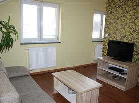 Apartmán C - obývací pokoj