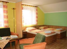 Ložnice apartmánu A