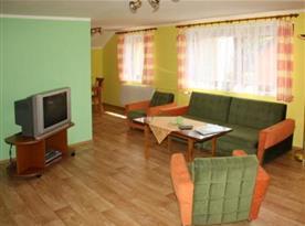 Obývací pokoj apartmánu A