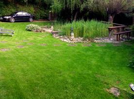 Upravená zahrada