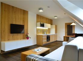 Interiér apartmánů č.1 a č.2