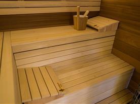 Sauna v chatě Davidka