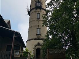 Tip na výlet: Rozhledna Hvozd, Oybín
