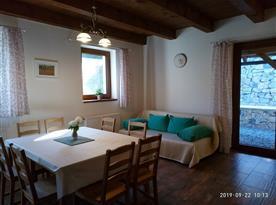 Obývací pokoj - část domu pro 8 osob