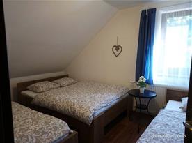 Ložnice 1 pro 4 osoby