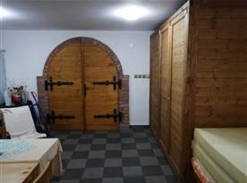 Místnost na posezení v prvním patře