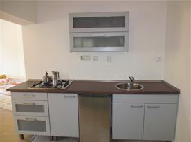 Kuchyňka k rodinnému apartmánu.