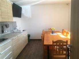 společná místnost Kuchyně