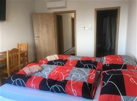 pokoj 1, 2 lůžkový  pokoj s možností přistýlky
