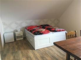 pokoj 4,  4 lůžkový pokoj s možností přistýlky