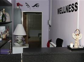 Vstup do našeho wellness