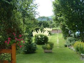 Zahrada u objektu