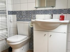 Apartmán B v podkroví koupelna