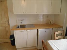 Apartmán A Přízemí - Kuchyně s jídelním koutem