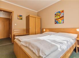 Apartmán Family&Business - ložnice
