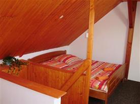 Mezonetový apartmán - ložnice (s možností klimatizace)
