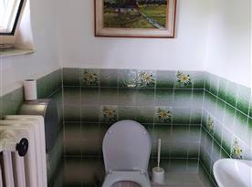 Apartmán pro 8 osob-Samostatná toaleta