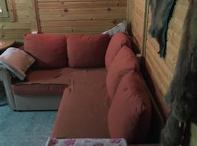 Rozkládací gauč poskytne 1 1/2 lůžka
