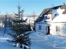 Zima na Klínovci