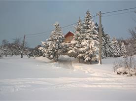 Objekt v zimě