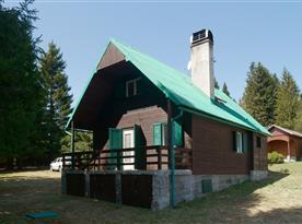 Pohled na Chatu Bedřichovka