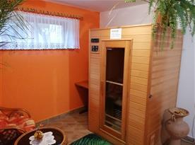 Sauna ve vstupní chodbě