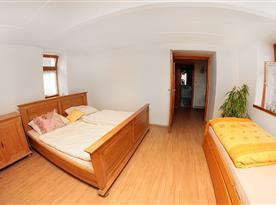 Apartmán v přízemí - ložnice v přízemí