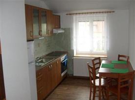 Kuchyně k apartmánům č. 2 a č. 3