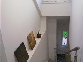 Vnitřní schodiště mezi apartmány