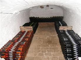 Vinný sklípek s možností odkupu vín