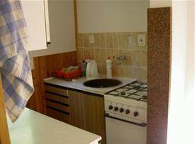 Pohled na kuchyňský kout