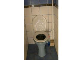 Pohled na samostatnou toaletu