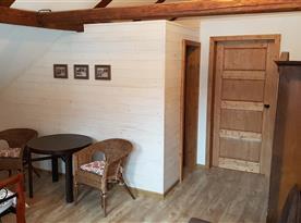 Pokoj 3 s vlastní koupelnou, 1. patro