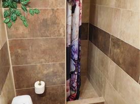 Koupelna - zděný sprchový kout