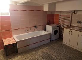 Koupelna s kuchyní