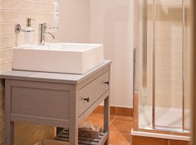 Apartmán I - koupelna