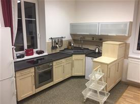Kuchyň - apartmán č.1