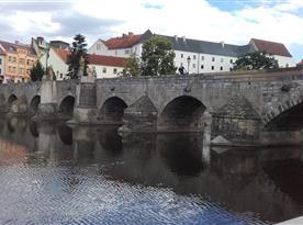 Písek - kamenný most