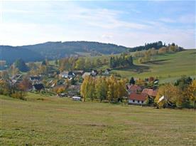 Podzimní pohled na Javorek