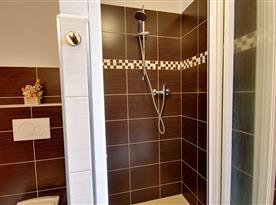 Podkrovní část-koupelna s toaletou