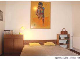 Apartmán Jaro - ložnice 2