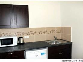 Apartmán Jaro - kuchyně