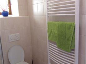 Apartmán Nostalgie - koupelna s toaletou