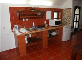 Plně vybavená kuchyňka pro všechny pokoje
